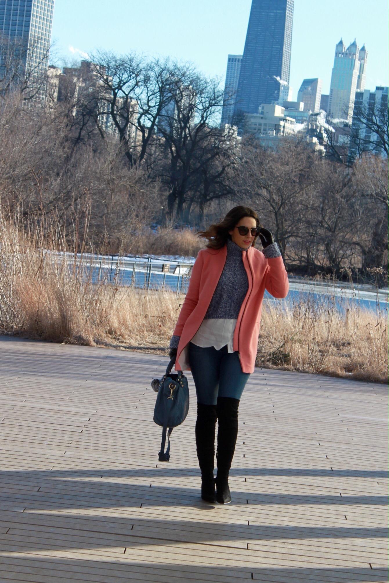 slouchy-pink- wool-coat