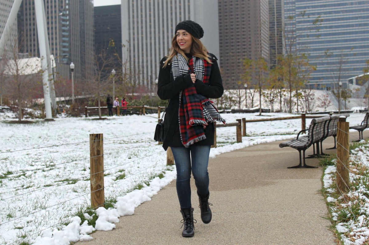 Perfect Packing List To Keep Warm When Visiting Chicago During Winter.