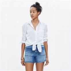 20. Madewell Tie Front Shirt